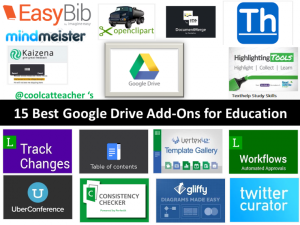 15 Best Google Drive Add-Ons by Vicki Davis